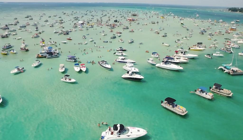 Pontoon Boat Rentals Crab Island Destin