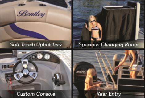 Destin Water Fun - Pontoon Boat Rental Features